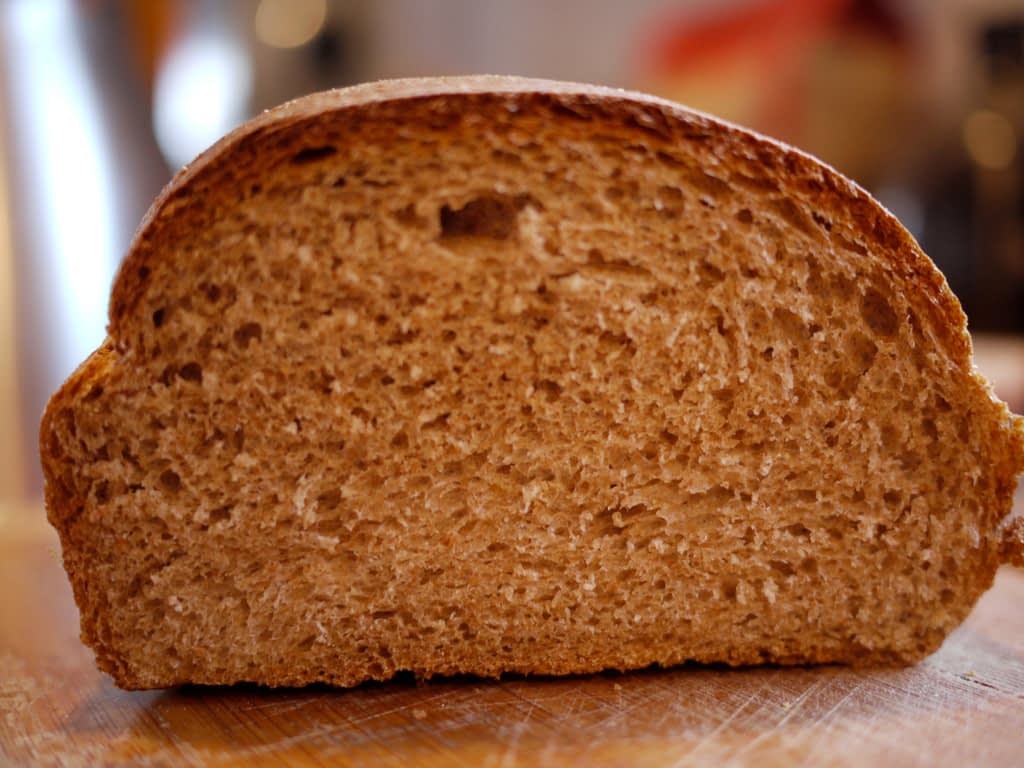 Whole wheat bread. (Photo: Rebecca Siegel/Flickr)