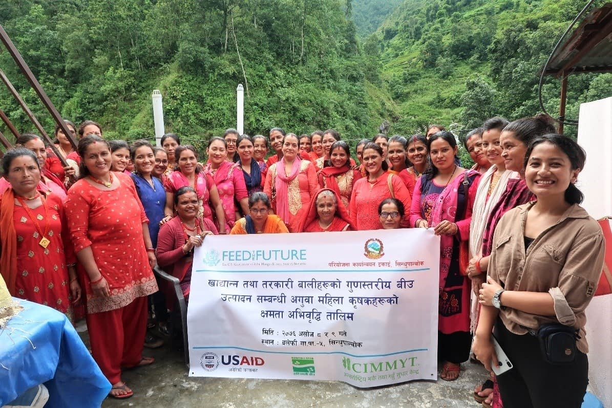 Women attend seed production workshop