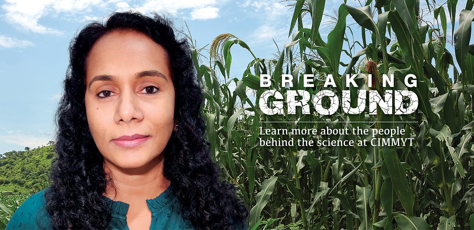 Sudha Nair Breaking Ground