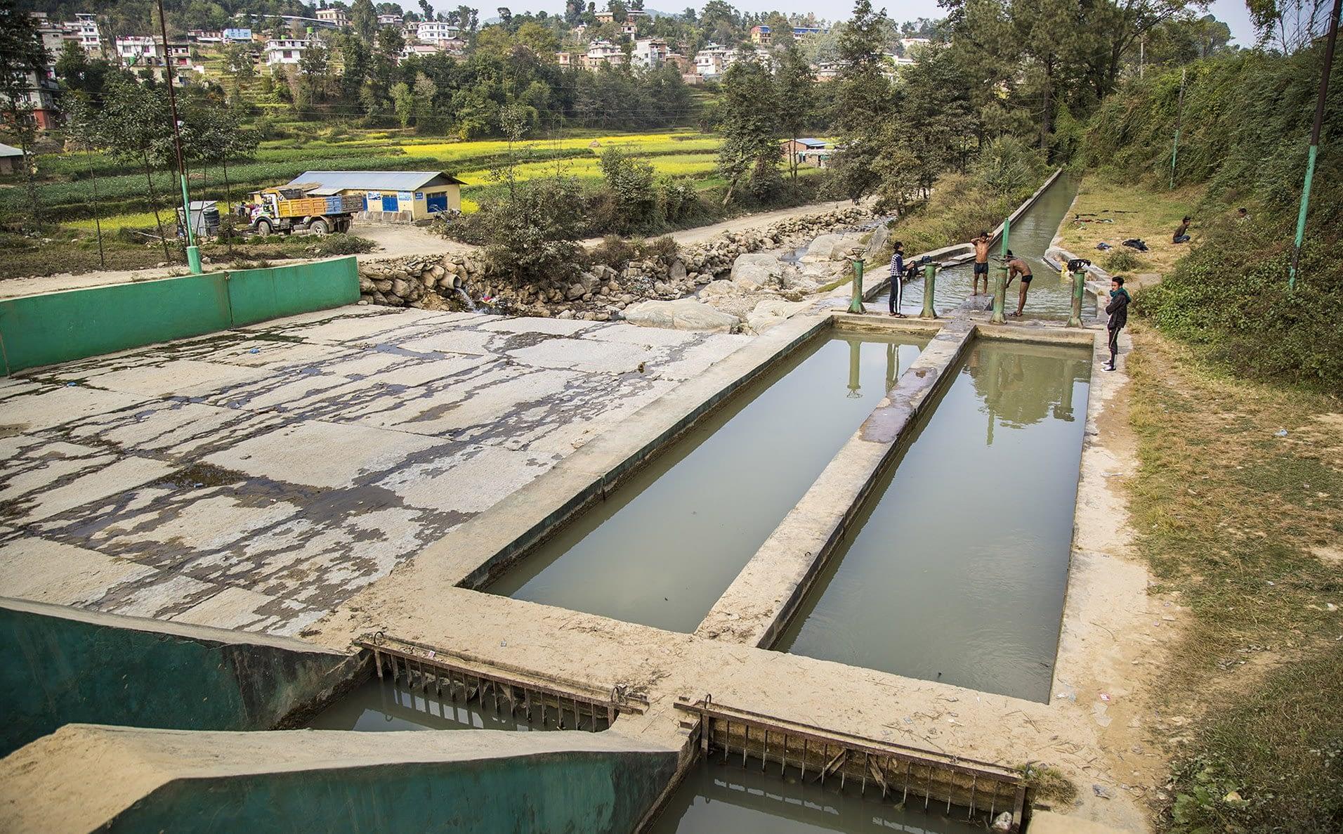 An irrigation canal in Nepal. (Photo: Jitendra Raj Bajracharya/ICIMOD)