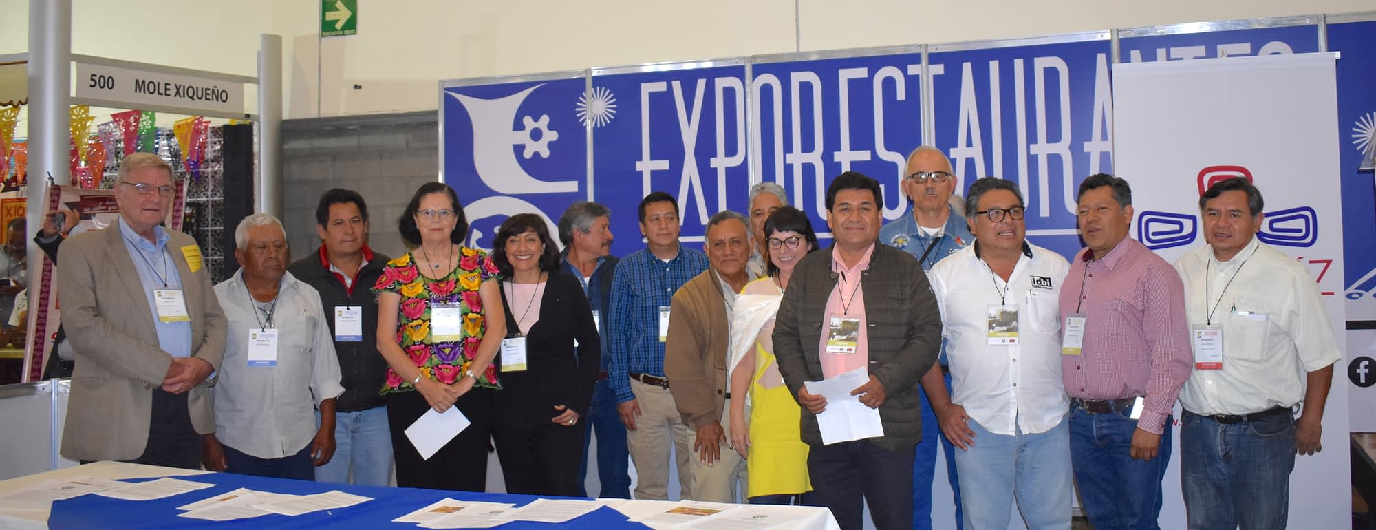Members of the association gather for a photo at the launch event. (Photo: ProMaíz Nativo)