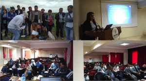 """Participants attending the """"Wheat Phenotyping Training Course"""" in Konya, Turkey."""