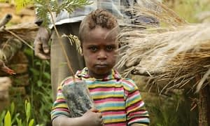 Even in areas of high food security, vitamin and mineral deficiencies affect children in Southern Ethiopia. CIFOR Photo/Mokhamad Edliadi