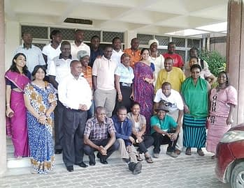 Photo: Andrew S. Chamanza/ MoAFS, Malawi and S. Mittal/CIMMYT