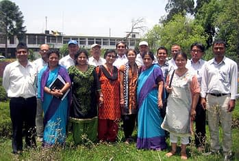 Participants in the workshop hosted by CIMMYT-Nepal.
