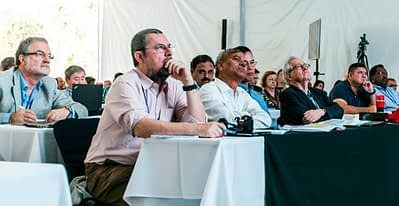 Science Week 2015 participants at welcome and introduction ceremony. Photo: CIMMYT