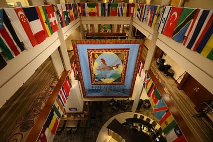 General view of the 2018 Borlaug Dialogue venue. (Photo: World Food Prize)