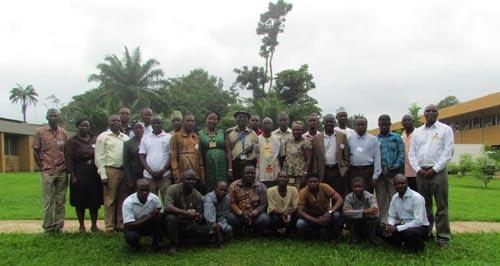 Maize-IITA-training-Aug-Group-picture