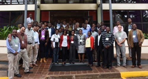 The quality assurance and control workshop was held from May 17-19, 2017. Photo: CIMMYT