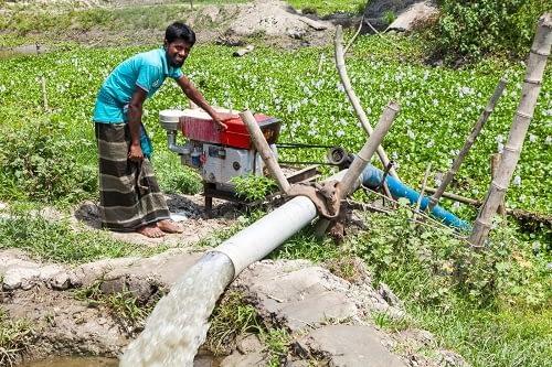 Axial Flow Pump. Photo: CIMMYT.
