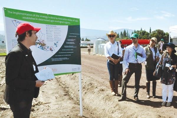 Govaerts discusses the impacts of MasAgro. Photo: Agrosintesis