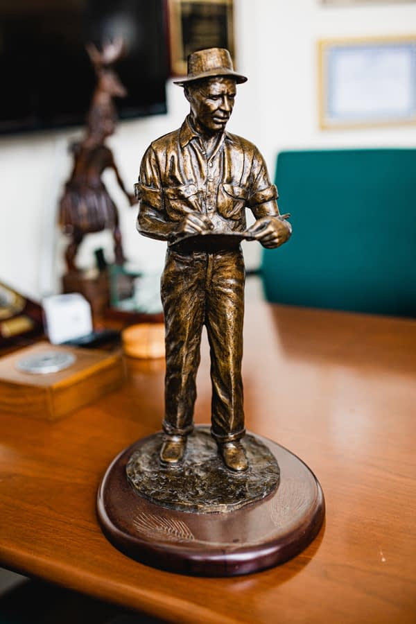 With the Norman Borlaug Lifetime Achievement Award, the BGRI community honors four individuals who have been integral to the initiative. (Photo: BGRI)