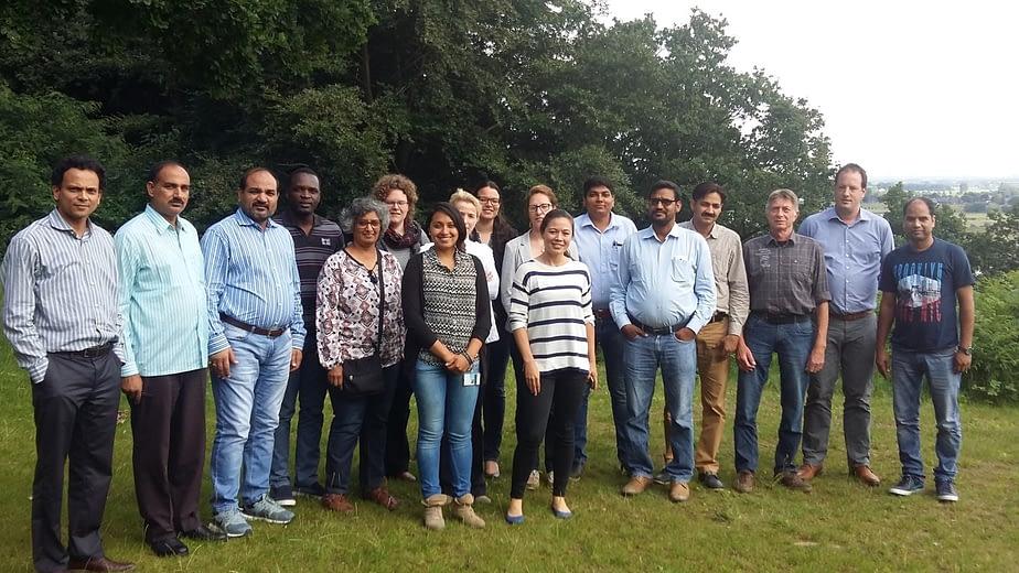 Climate smart agriculture workshop participants. Photo: CIMMYT